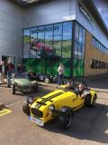 Visit to the workshop and showroom of Caterham Cars